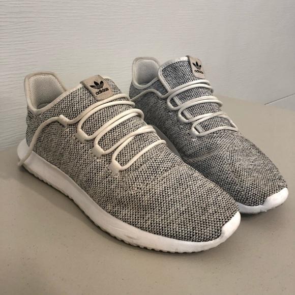 Men's Adidas Tubular Shadow Knit Athletic Shoes 12